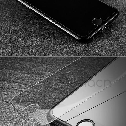 iPhone 4D Screen Protector Ultra-Thin Full Cover Tempered Glass 9H Hardness 3D Curved Film Edge - C & C