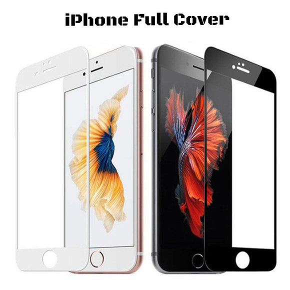 9H iPhone Ultra-Thin Screen Protector Full Cover Tempered Glass, 3D Curved Film Edge - C & C