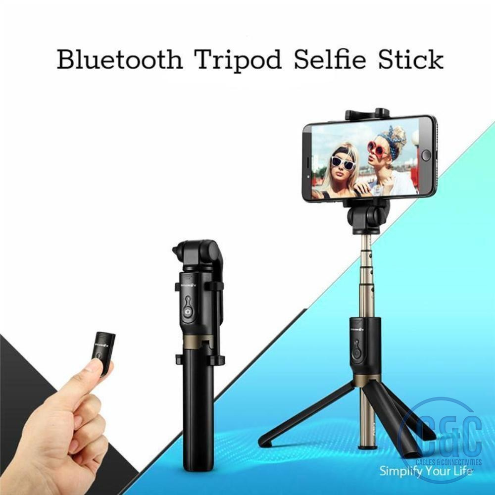 Bluetooth Selfie Stick Tripod,for iPhone, Samsung Galaxy, 360° Rotation