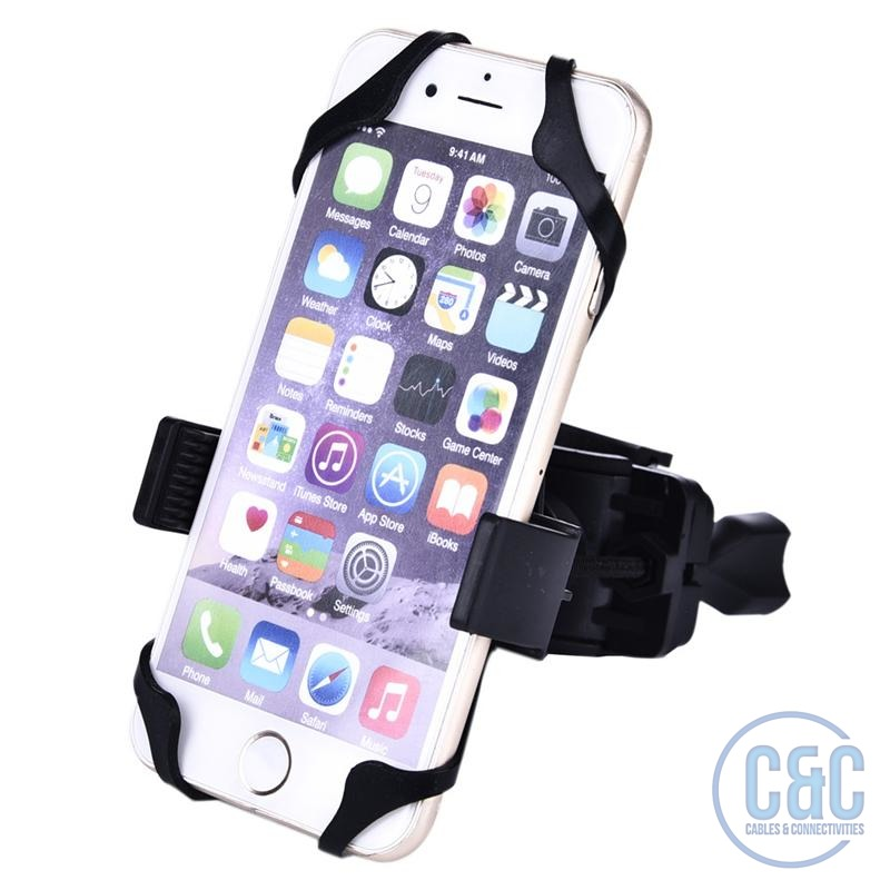 CellPhone Smartphone, PDA, iPod & GPS Universal Bike Motorcycle &  Bicycle Handlebar Mount Holder