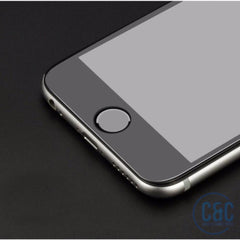 iPhone 4D Screen Protector Full Cover Tempered Glass, 3D Curved Film Edge
