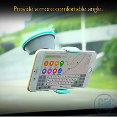 Universal Portable Adjustable Car Air Vent Mount Stand Holder for Smartphones and GPS