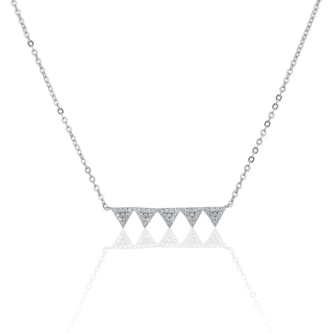 Mia Triangle Necklace