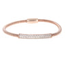 Rose Pave Bar Magnetic Bracelet