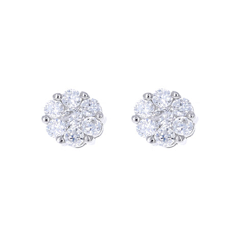 Delicate Bouquet Stud Earrings