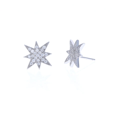 Antique Celestial Stud Earrings