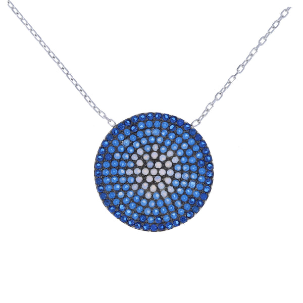 Ombre Disc Necklace