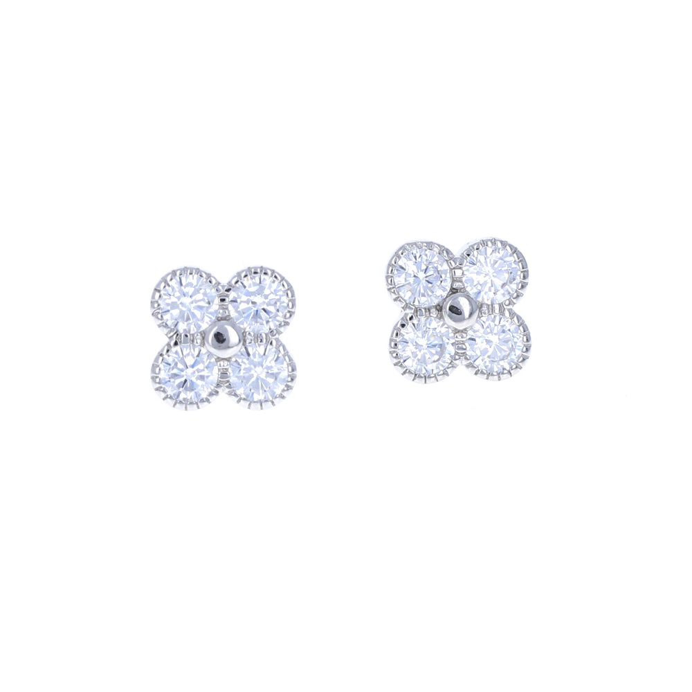 Load image into Gallery viewer, Radiant Clover Earrings