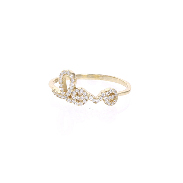 Love Script Ring