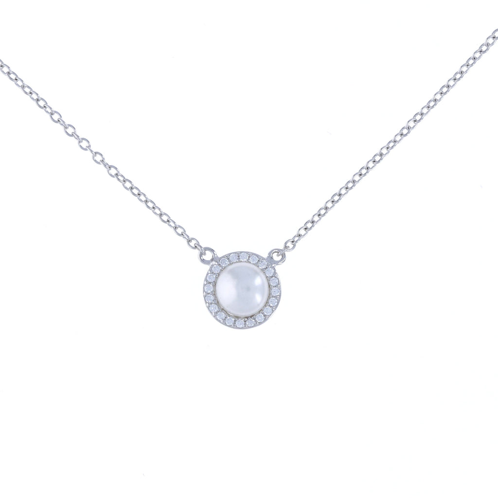 Pearl Halo Necklace
