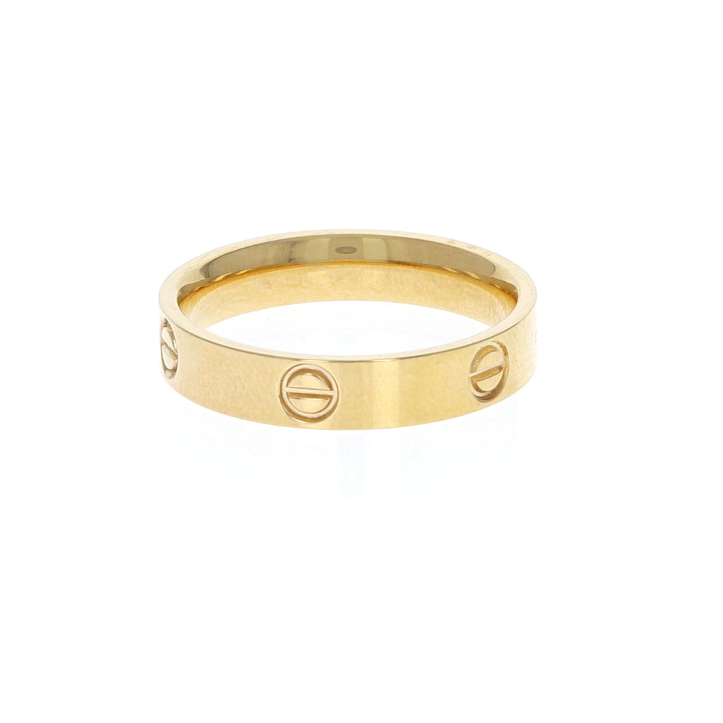 Adore Gold Stacking Ring