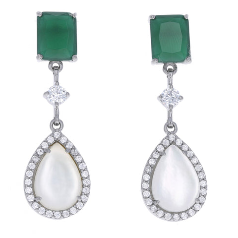 Emerald Princess Earrings