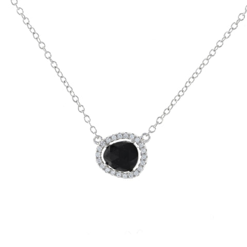 Free Form Onyx Necklace