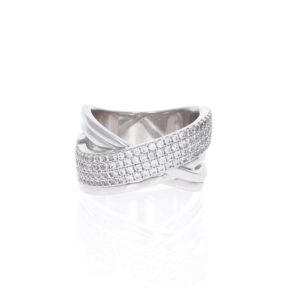 Abstract Criss-Cross Ring