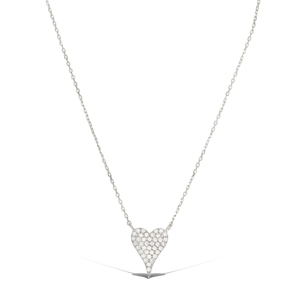 Pointed Heart Necklace