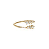 Diamond Dot Wrap Gold Ring