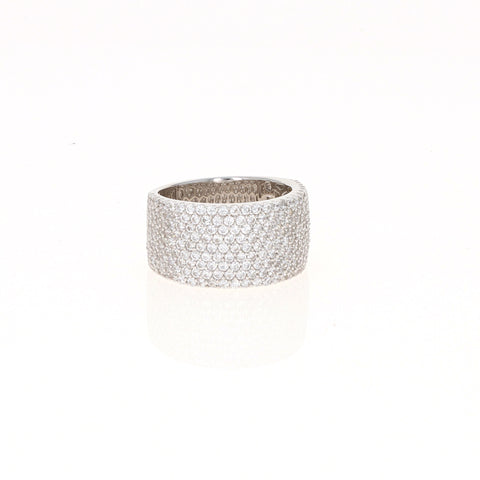 Silver Multi-Row Band
