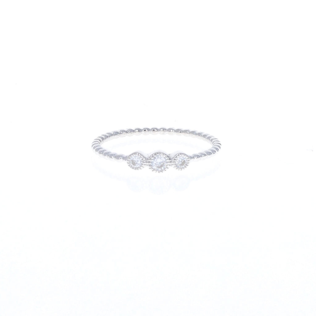 Silver Triple Stacking Ring