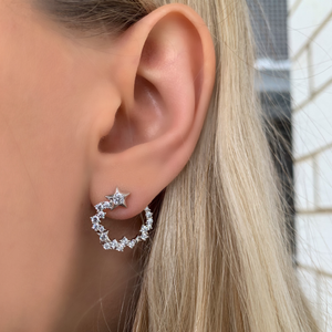 Load image into Gallery viewer, Shooting Star Earrings