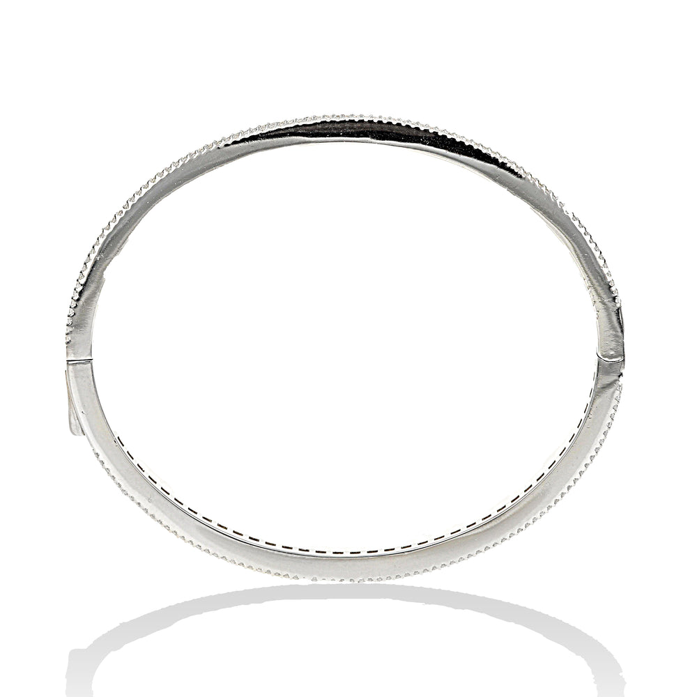 Load image into Gallery viewer, Princess Halo Bangle Bracelet