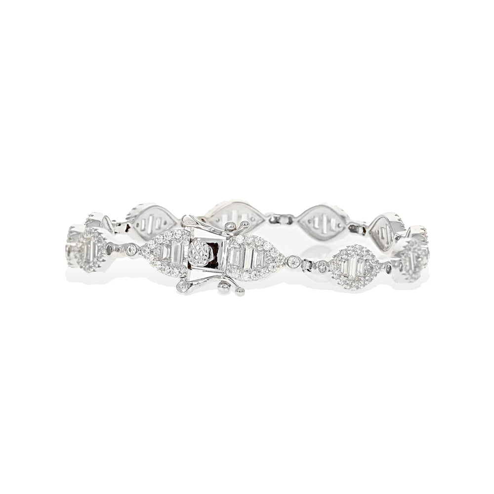 Load image into Gallery viewer, Marquise Halo Bracelet