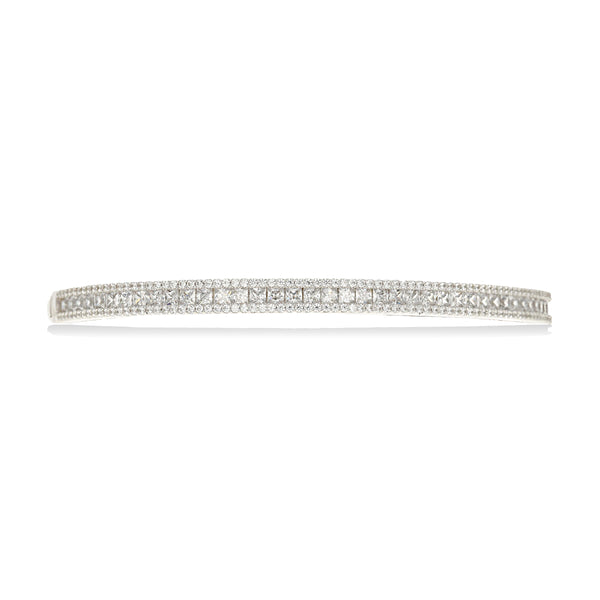 Princess Halo Bangle Bracelet