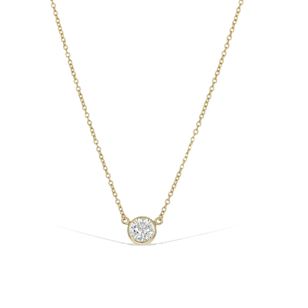 Classic Bezel Necklace