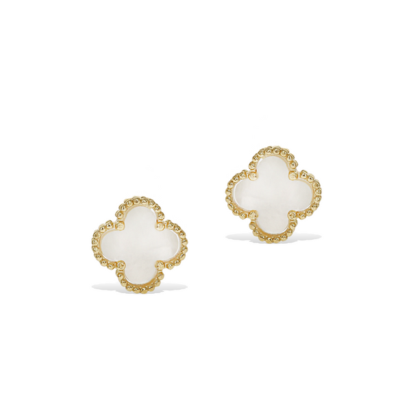 Pearl Clover Earrings