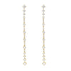 Golden Dramatic Duster Earrings