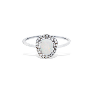 Load image into Gallery viewer, Free Form Opal Ring