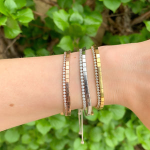 Stacking Multiple Alexandra Marks CZ Tennis Bracelets