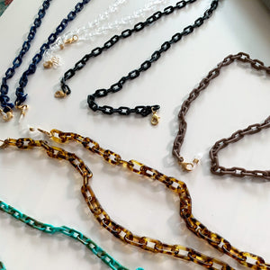 Acrylic Face Mask Chains