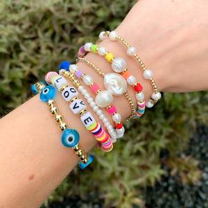 Colorful Message Bracelets