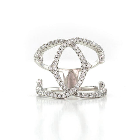 Vintage Criss-Cross Ring
