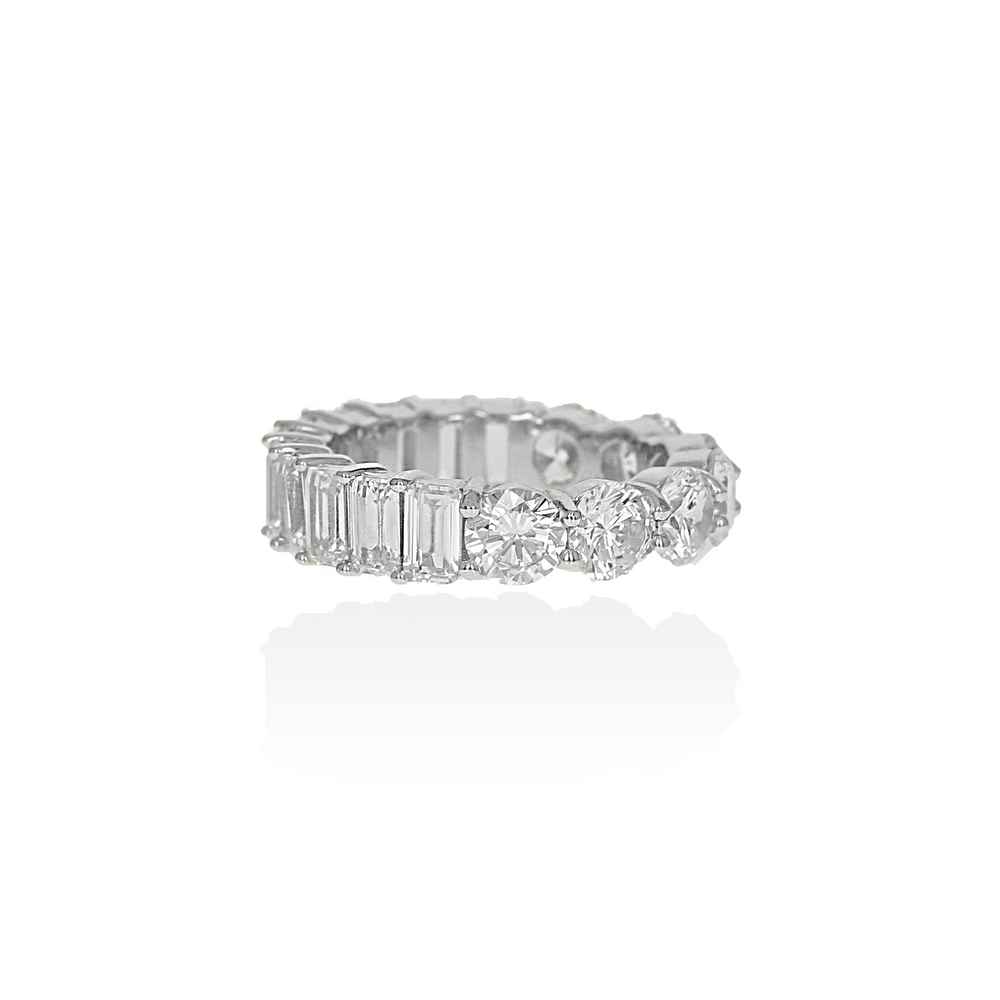 Load image into Gallery viewer, Mixed Eternity Band
