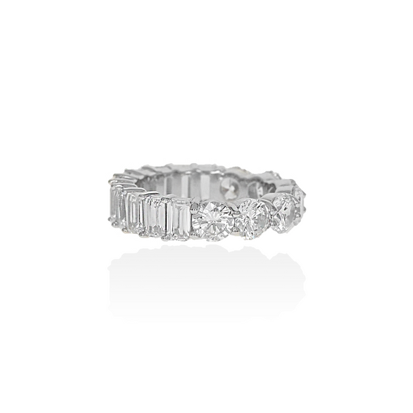 Mixed Eternity Band