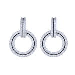 Circle Link Earrings
