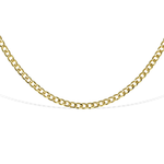 Alexandra Marks | Gold Curb Chain Choker Necklace