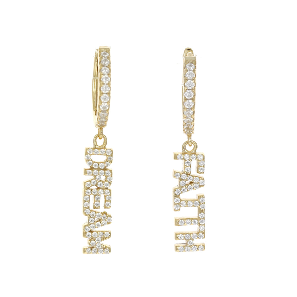 Single Dream Charm Earring