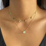 Free-Form Opal Necklace