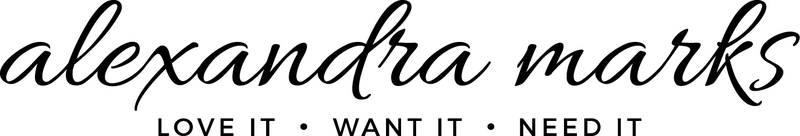 Alexandra Marks (Love It. Want It. Need It) logo