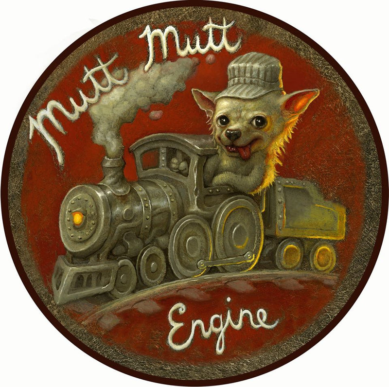 MUTT MUTT ENGINE...ALL ABOARD!