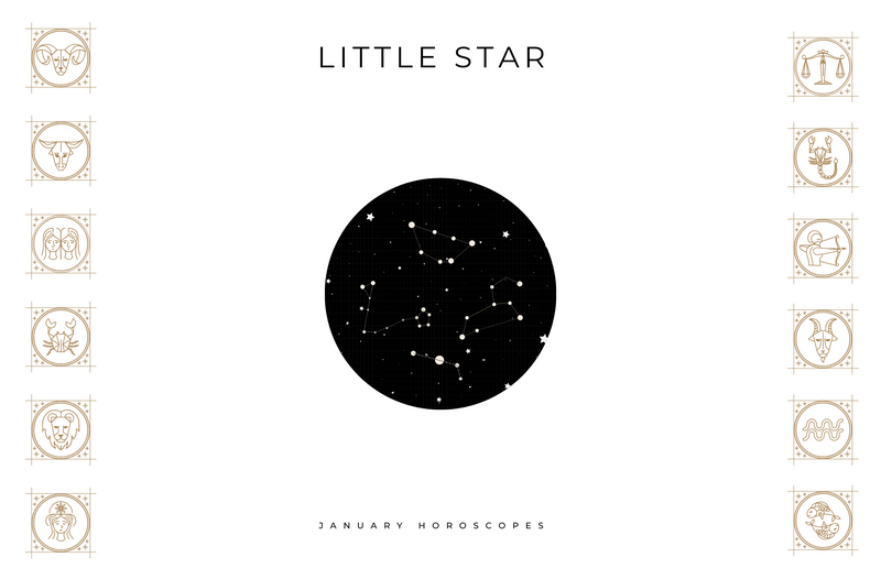LITTLE STAR JANUARY 2021 HOROSCOPES