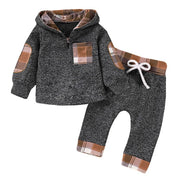 Baby Boys Hoodies + Pants 2pcs Clothing Sets