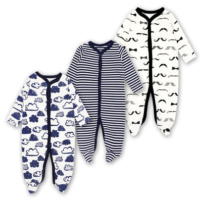 Infant Baby Sleepers Boy Girls 3 6 9 12 Months