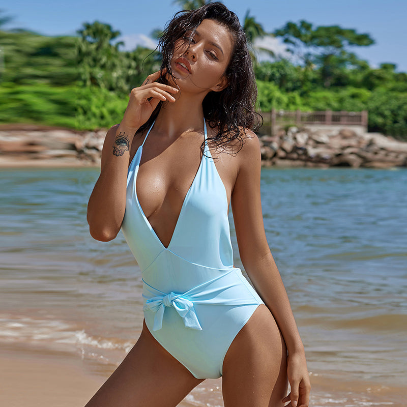 Swimwear 2018 High Waist Swimsuit Plus Size Padded Bathing Suit Sexy