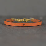 Heart Image - Leather Bracelet