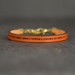 Load image into Gallery viewer, Fruits of the Spirit Galatians 5:22-23 - Christian Bracelet by Laurel Denise