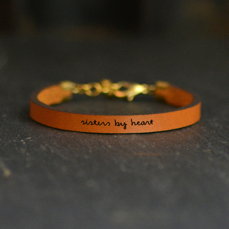 """Sisters by Heart"" Best Friends Bracelet"