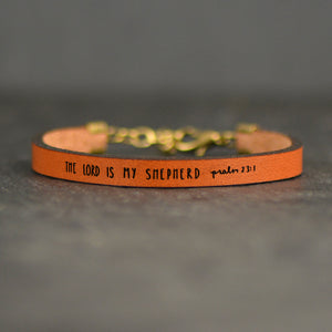 Load image into Gallery viewer, The Lord is my Shepherd Psalm 23:1  - Christian Bracelet by Laurel Denise